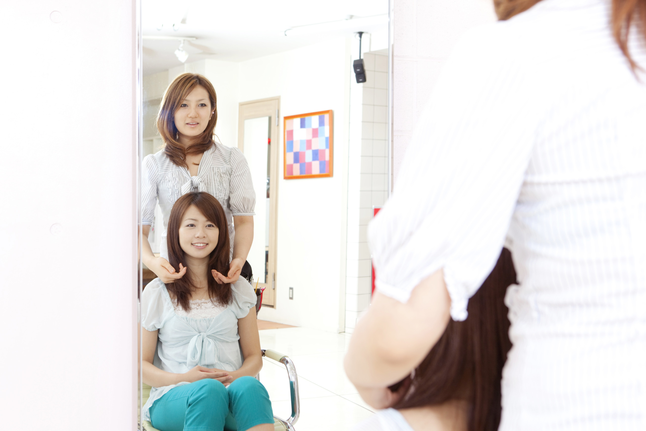 横浜反町美容院ユメユイのの特別なカウンセリング
