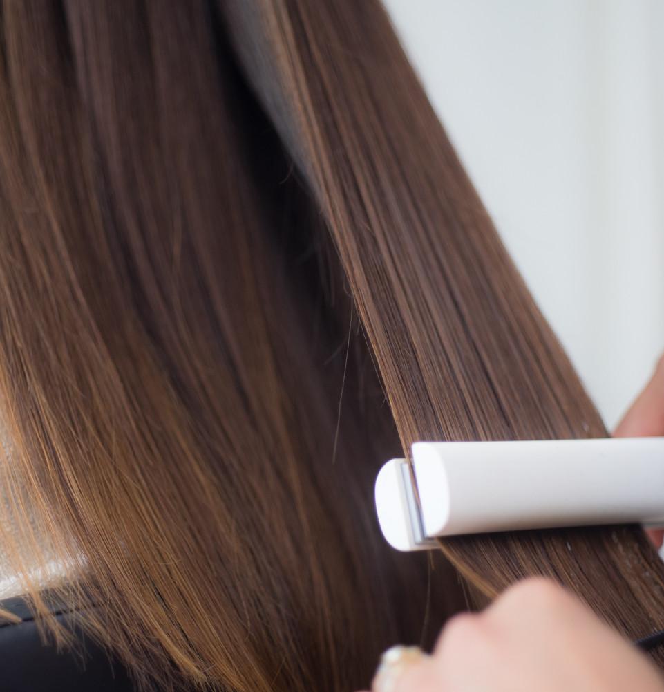 美容室YUME-YUIで髪に優しく縮毛矯正
